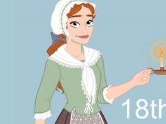 18th Century Fashion Dress Up