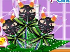 Addicted to Dessert Black Cat Cake Pops