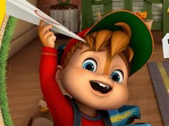 Alvin and The Chipmunks Paper Pilot