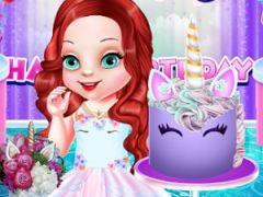 Baby Ariel Unicorn Birthday