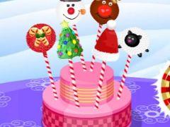 Baby Hazel Christmas Cake Pops