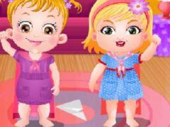 Baby Hazel Mischief Fun Time