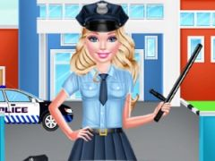Barbie Cop Style Photo