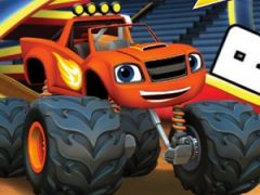 Blaze and the Monster Machines Word Link