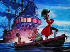 Captain Hook and the Pirates Boat Puzzle