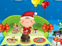 Christmas Doll House Decoration