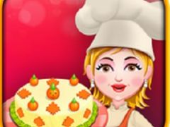 Cooking with Hazel Pumpkin Cheese Cake