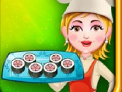 Cooking with Hazel Sushi Rolls