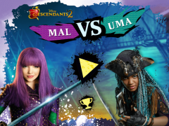 Disney Descendants 2 Mal vs Uma