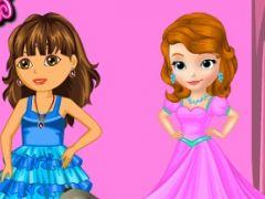 Dora and Sofia Beauty Contest
