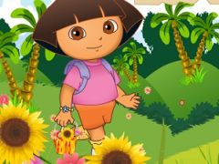 Dora Flower Basket
