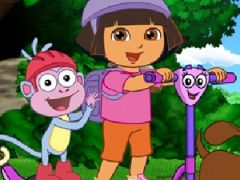 Dora the Explorer Find Those Puppies