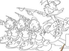 Ducktales Coloring Page