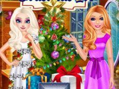 Elsa and Ellie Christmas Eve