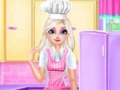Elsa with Ice Cream Car