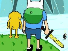 Finn and Jake vs the Ice King