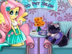 Fluttershy Cat Care