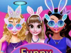 Funny Easter Girls