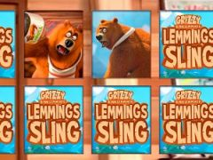 Grizzy and the Lemmings Sling Memory