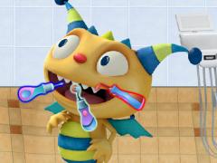 Henry Hugglemonster Real Dentist
