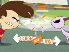 Kid vs Kat Paint Balloons