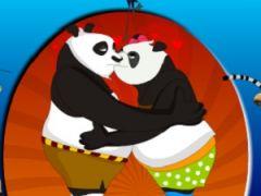 Kung Fu Panda Kiss