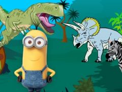 Minion in Jurassic World