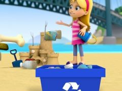 Paw Patrol Beach Cleaning