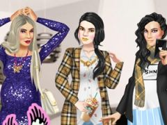Pregnant Kardashians Dress Up
