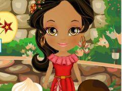 Princess Elena Cake Decoration