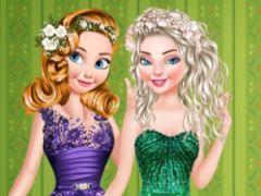 Princesses Christmas Glittery Ball