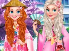 Princesses Girls Trip to Japan