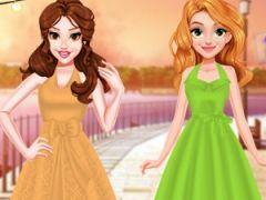 Princesses Retro Chic Dress Design