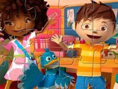Puzzle Zack Kira and Quack