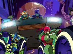 Rise of the Teenage Mutant Ninja Turtles Road Riot