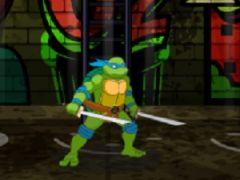 Teenage Mutant Ninja Turtles Kickin It Old School