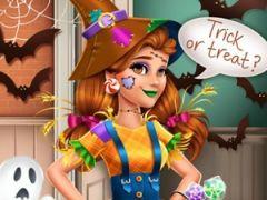Victorias Halloween Scarecrow Costume