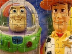 Wood and Buzz Puzzle